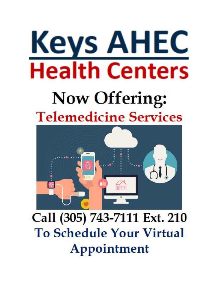 Updated AHEC and Telehealth Information MCSD