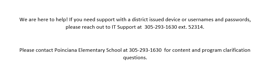 Virtual Learning Tech Support