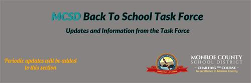 Back to School Task Force text graphic